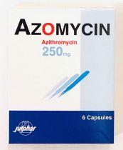 AZOMYCIN 250MG CAPSULES 6 S