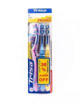 TRISA TB FLEXIBLE HEAD TWIN PACK 2+1 2TR0013