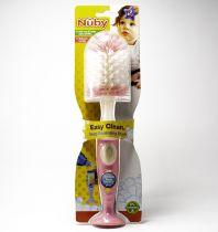 NUBY BOTTLE BRUSH W/ SOAP DISPENSER