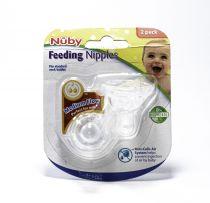 NUBY 2 NUBY NIPPLE - FORMULA
