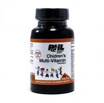 PHL CHILDRENS MULTI-VITAMIN CHEWABLE 60 CAPS