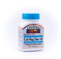 21st CENTURY CAL/MAG/ZINC+D TAB 90S