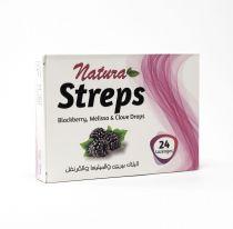 NATURA STREPS BLACBERRY & MELISA