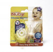 NUBY NO SPILL SILICONE NUBY NIPPLE