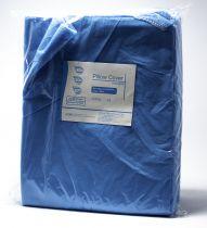 DISPOS PILLOW COVER BLUE 81 CM X 51 CM, (1 X 50) (277)