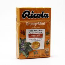 RICOLA CANDY  ORANGE MINT 50 G