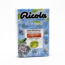 RICOLA CANDY  ALPHIN-FRESH 50G