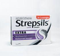 STREPSILS EX BLACK CURRANT 36'S