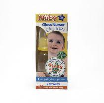 NUBY STANDARD NECK GLASS BOTTLE 60 ML