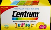 CENTRUM JUNIOR CHEW TABLETS 30S