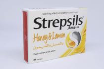 STREPSILS HONEY LEMON 24 S