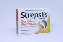 STREPSILS VIT-C (ORANGE) 24S