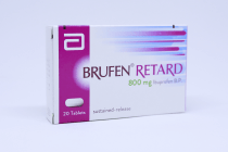 BRUFEN RETARD TABLETS 20S