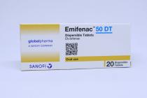 EMIFENAC 50 DT 20S