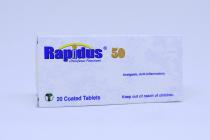 RAPIDUS 50 MG TABLETS 20S