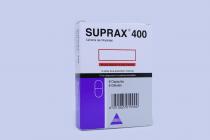 SUPRAX 400MG CAPSULE 6 S