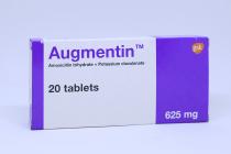 AUGMENTIN 625 MG TABLET 20S