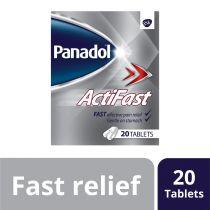 PANADOL ACTIFAST CAPLET 20S