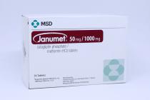 JANUMET 50/1000MG TAB 56S