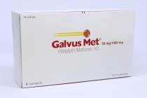 GALVUSMET TAB 50/1000MG