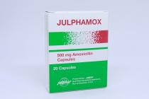JULPHAMOX 500MG CAPSULE 20S