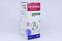AMYDRAMINE S/F SYRUP 120ML