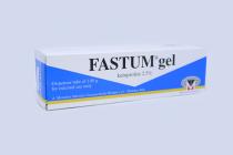 FASTUM GEL 2.5% DISPENSER TUBE 100GM