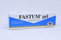 FASTUM GEL 2.5% DISPENSER TUBE  50GM
