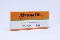 MYONAL 50MG TABLET 30'S