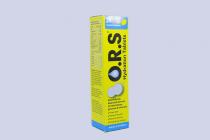 O.R.S SOLUBLE TABS-LEMON 24S