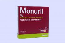 MONURIL 3 G ORAL SOLUTION 1'S SACHET