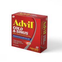 ADVIL COLD & SINUS CAPLETS 20 S
