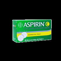 ASPIRIN C EFFERVESCENT TABLET 10S (78)