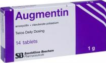AUGMENTIN 1GM TABLET 14S