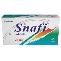 SNAFI 20MG TABLETS 4 S