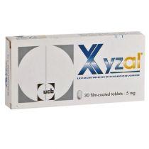 XYZAL 5MG TABLETS 30 S