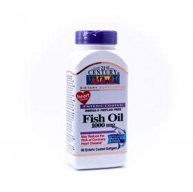 21ST CENTURY OMEGA-3 FISH OIL 1000MG 90S